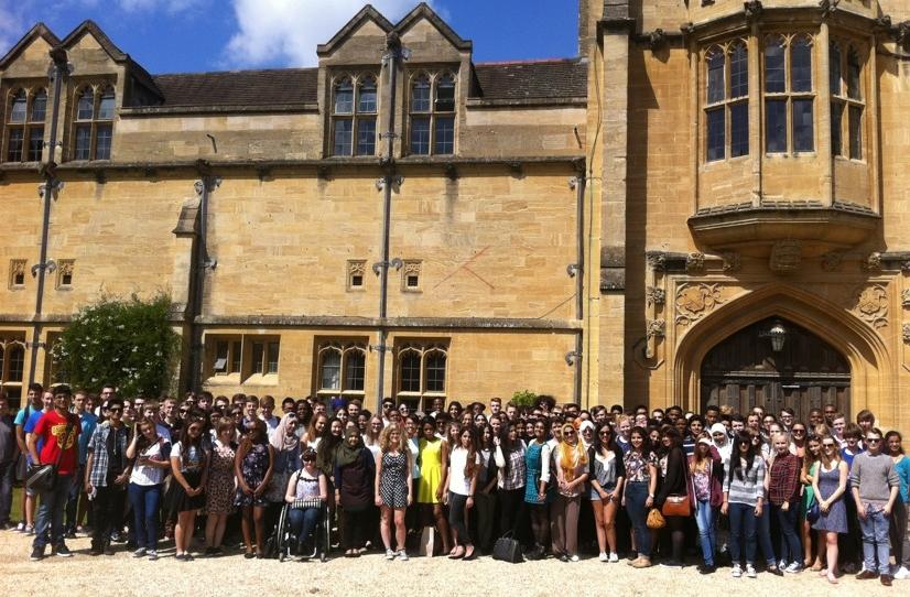 University of Oxford visit