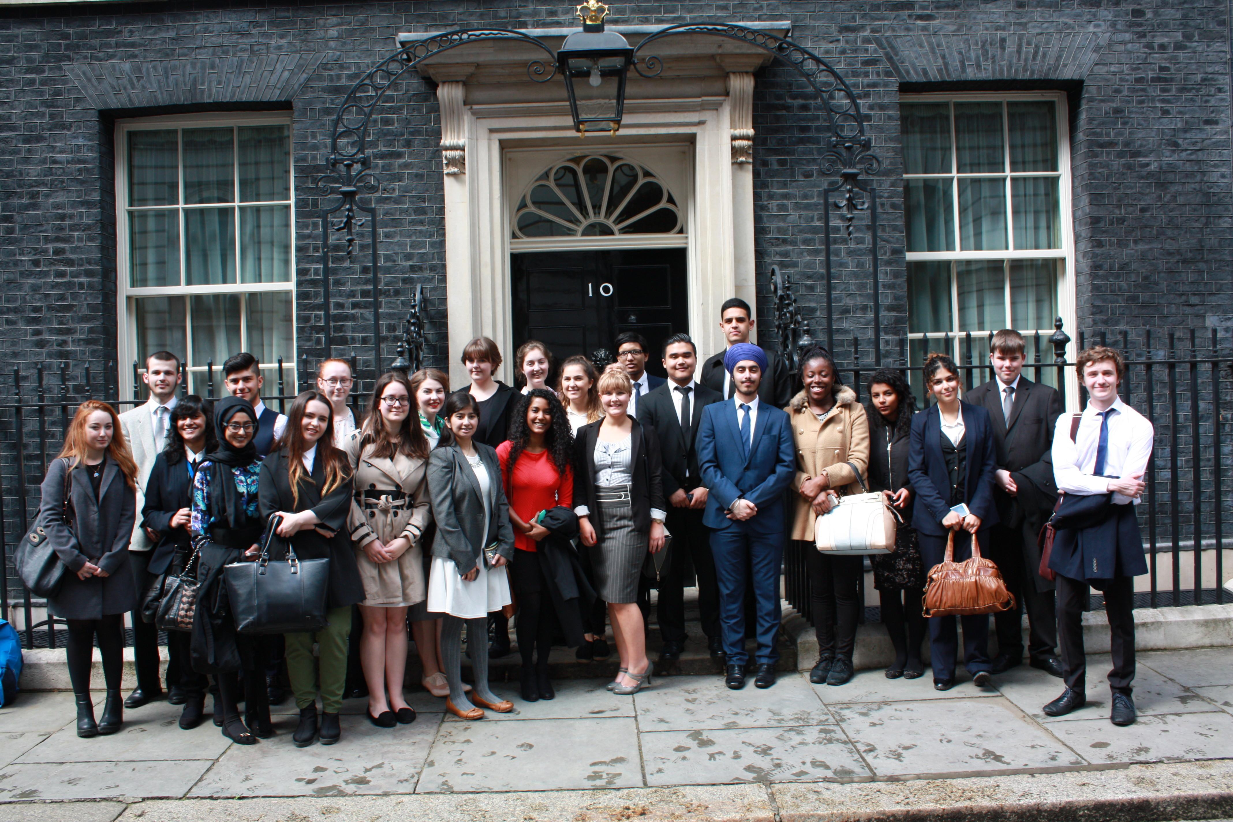 No 10 Group Photo